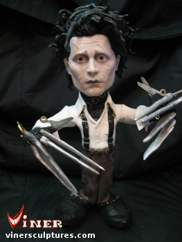 Edward-Scissorhands by Mike K. Viner
