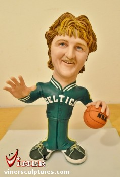 Larry Bird by Mike K. Viner
