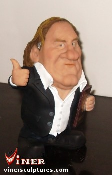 Gerard Depardieu by Mike K. Viner