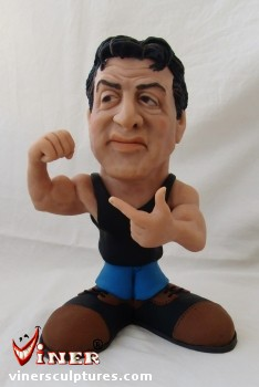 Sylvester Stallone by Mike K. Viner